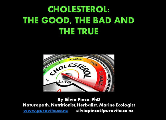 Cholesterol: the good, the bad and the truth