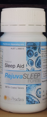 Herbal sleep supplement