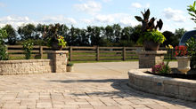 Use our new concrete pavers to create your outdoor space this summer