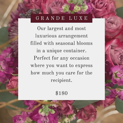 Custom Floral Design (Grande Luxe)