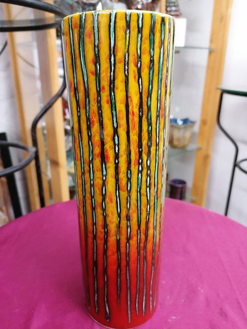 27cm Brimstone trial vase beautiful