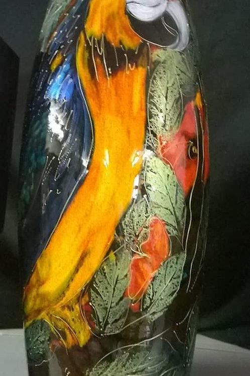 Made to order Huge 50cm havana Macaw havana vase allow 21 days