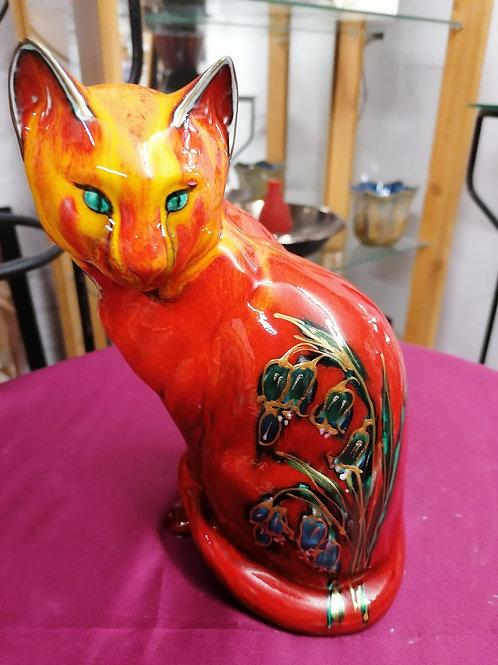 Made to order 24cm lovely cat bluebell design