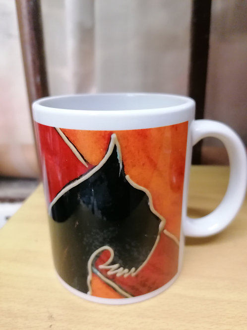 In stock chun ky Scottie mugs
