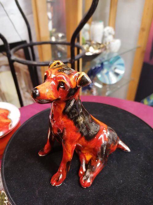 Made to order 12cm Jack Russell handpainted glaze effect IN STOCK NOW