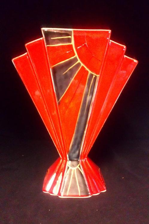 24cm Fan vase