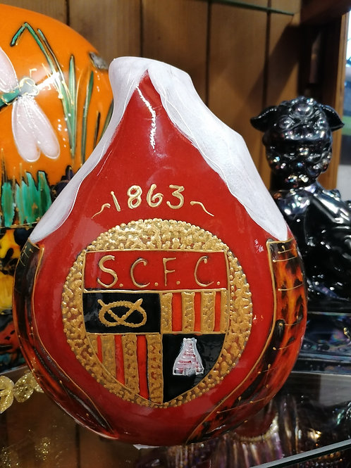 Only 5 ever made IN STOCK NOW Stoke City vase 4/5 donation to the com trust