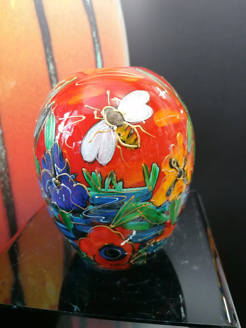 Made to order 14cm Honey Bee Brook hand painted vibrant and fresh