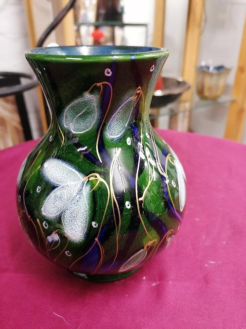 Pretty snowdrop vase