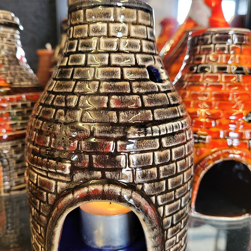 Beautiful  16cm bottle oven oil burner modeled in house by Pete