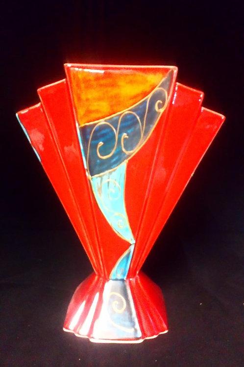 24cmDeco Fan vase