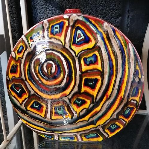 Inca inspired desiner lamp base