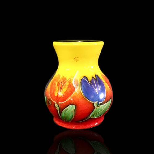 Tulips Trojan Vase 14cm