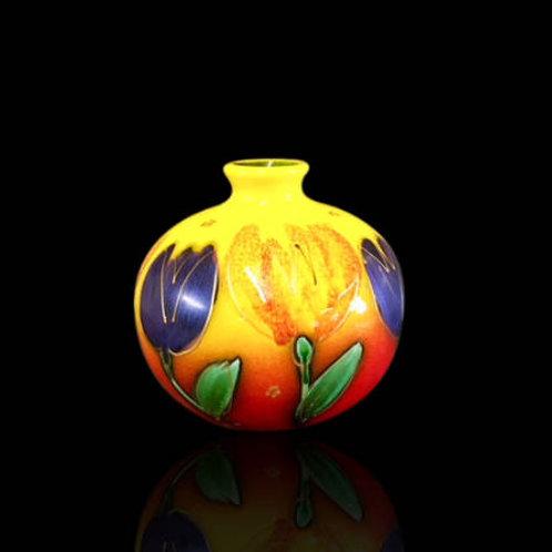 Tulips Marakesh Vase 10cm allow 21days