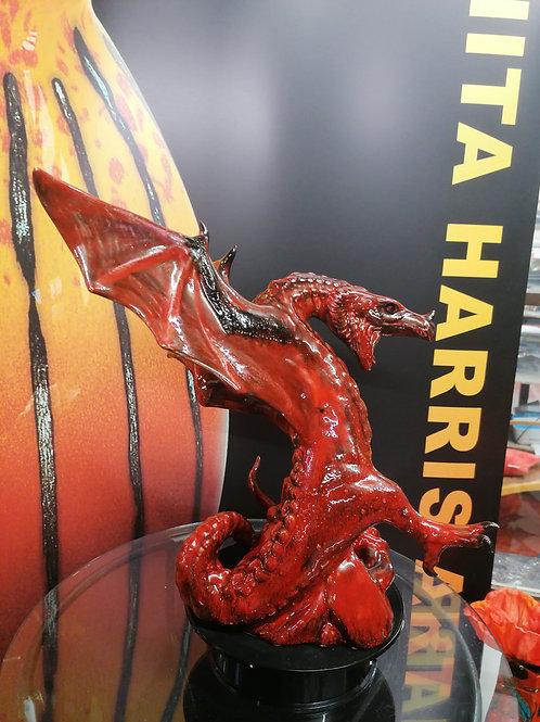 Large flambé dragon limited numbers