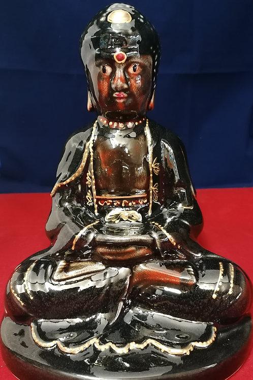 23cm beautiful handpainted Buddah