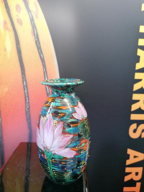 Made to order  lotus flowers 21cm vase spiritual stunning flower
