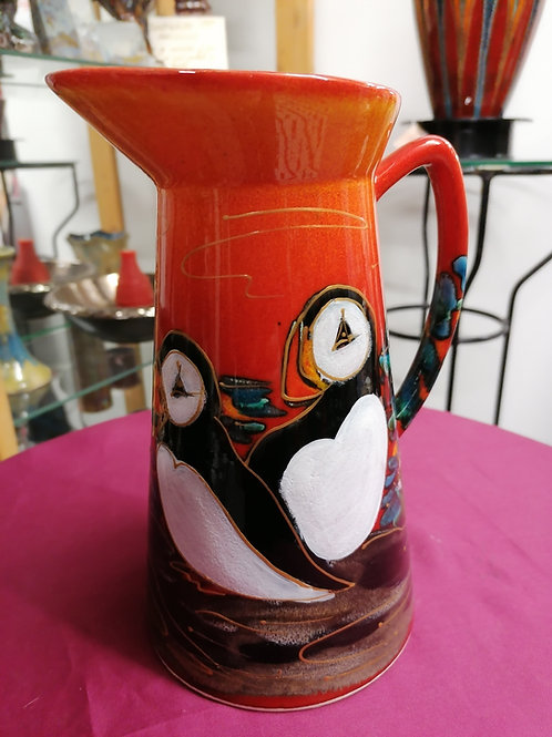 Made to order 27cm jug in Puffin Island