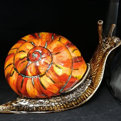 Giant snail please allow 21 days for us to make and paint this item