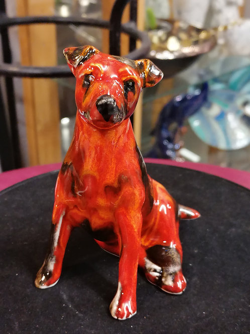 12cm Jack Russell glaze effect IN STOCK NOW