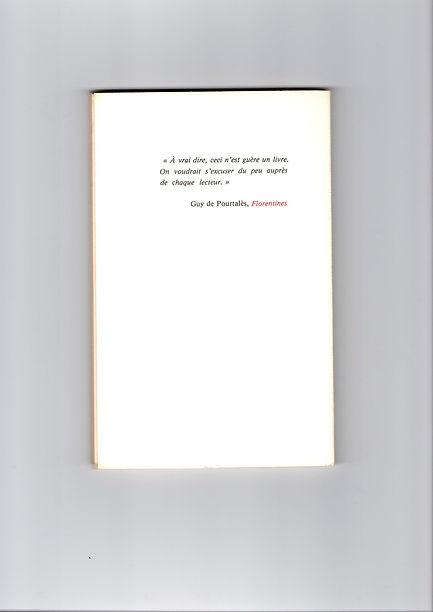 Quatrième de couverture de Portrait d'André Breton, seul de Mathieu Bénézet, paru en 1989 aux éditions Monologue.