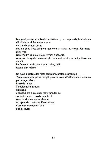Extrait de Qui oppose la fresque au poème vienne se battre avec moi de Laure Gauthier