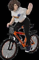 CHICA con Bicicleta 001B (Saludando).png