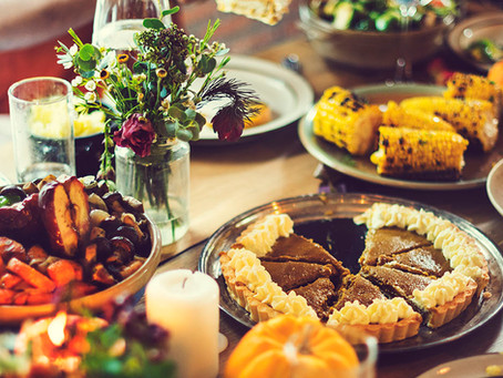 Un repas traditionnel pour Thanksgiving