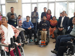 Visit to the Chandigarh Spinal Rehab Center