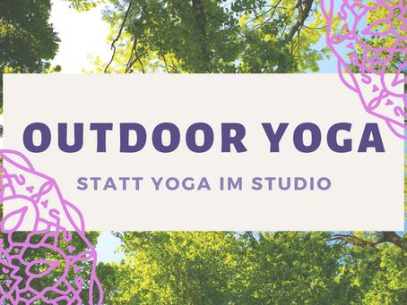 Endlich wieder Yoga im Freien