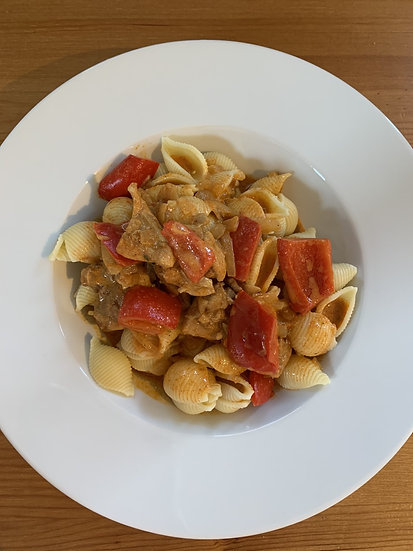 Paprika Chicken Pasta