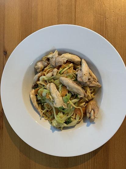 Chicken Satay Stir Fry
