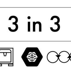 3 in 3