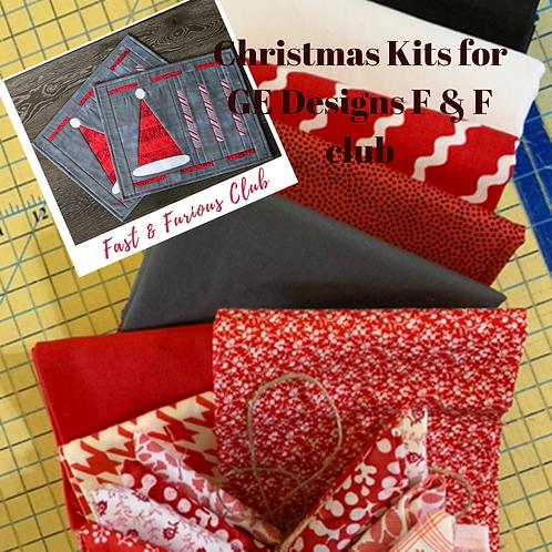 GE Designs F & F Club Christmas