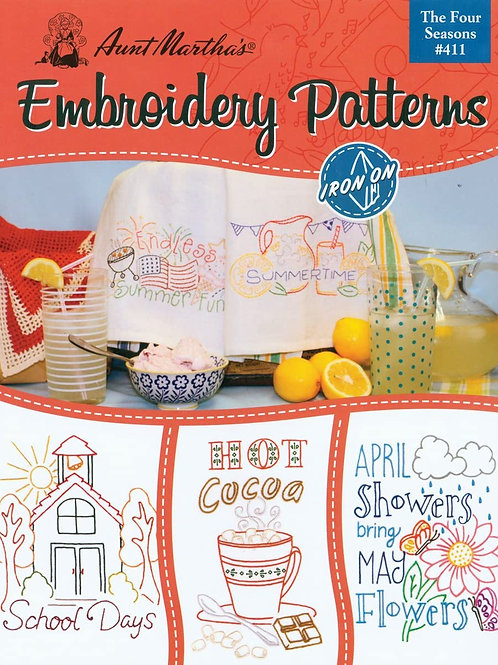 Aunt Martha's Embroidery Book Pattern 4th