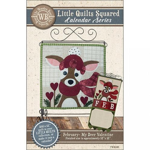 Little Quilts Squared calendar pattern