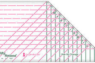 nifty notions side set triangle ruler
