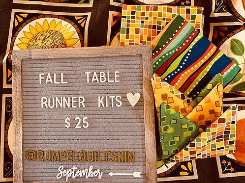 Fall Table Runner Kit #1