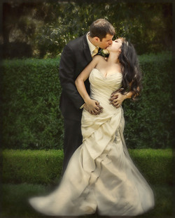 Romantic Mansion Wedding Photo