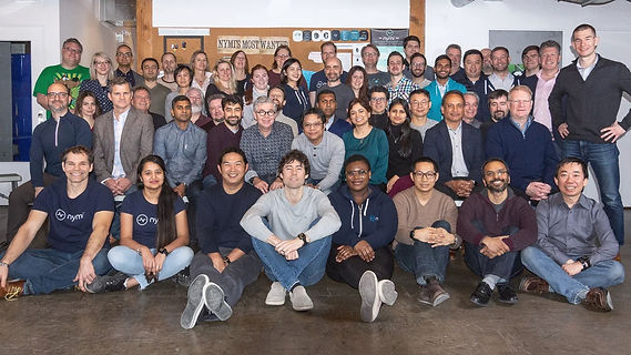 Group picture of Nymi employees