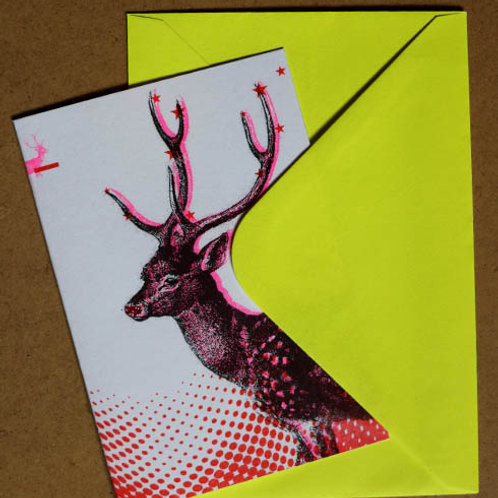 Risograph Christmas Cards