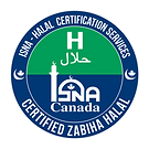 ISNA Halal Logo Vector - English Only-Co