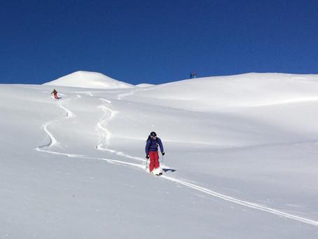 Ski route #1 Le tour du Charvet