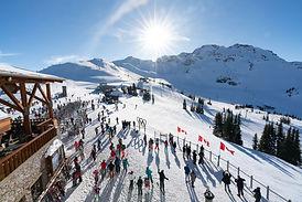 Skier à Whistler - Canada