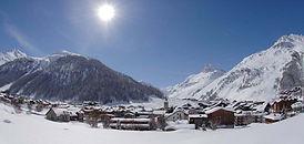 Ski in Val-d'Isere - France