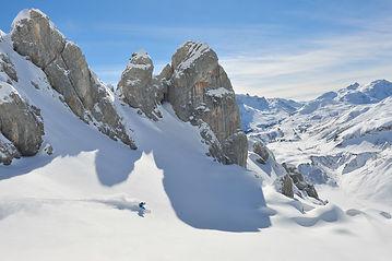 Skifahren in Lech - Österreich