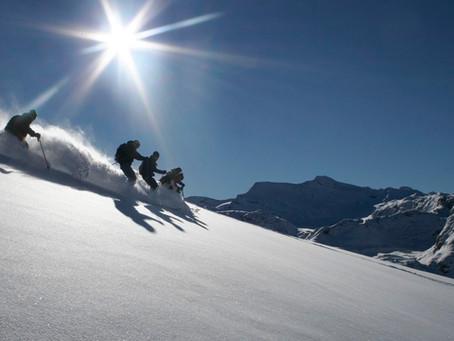 Ski route #2 Les pentes de l'Arcelle