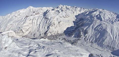 Skifahren in Val-d'Isere - Frankreich