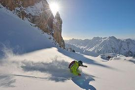 Skier à Ischgl - Autriche