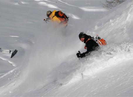 Ski route #3 Les Marmottons